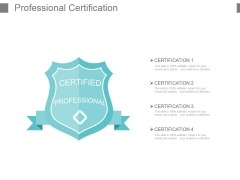Professional Certification Powerpoint Slide Background Image