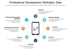 Professional Development Motivation Data Masking Techniques Marketing Strategy Ppt PowerPoint Presentation Gallery Format Ideas