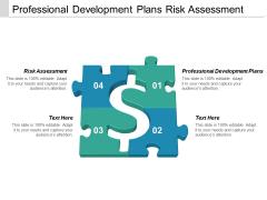 Professional Development Plans Risk Assessment Ppt PowerPoint Presentation Inspiration Master Slide
