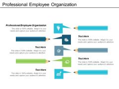 Professional Employee Organization Ppt Powerpoint Presentation Inspiration Diagrams Cpb