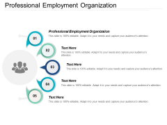 Professional Employment Organization Ppt Powerpoint Presentation Show Skills Cpb