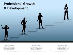 Professional Growth And Development Ppt Powerpoint Presentation Summary Example