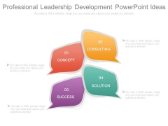 Professional Leadership Development Powerpoint Ideas