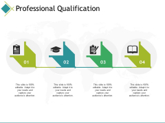 Professional Qualification Ppt PowerPoint Presentation Inspiration Background Image