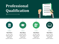 Professional Qualification Ppt PowerPoint Presentation Outline Sample
