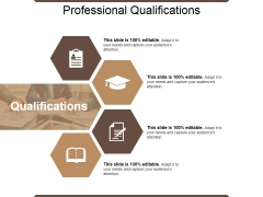 Professional Qualifications Ppt PowerPoint Presentation Infographics Styles