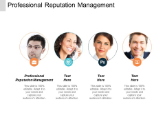Professional Reputation Management Ppt Powerpoint Presentation Infographic Template Summary