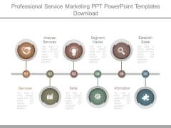 Professional Service Marketing Ppt Powerpoint Templates Download