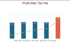 Profit After Tax Pat Ppt PowerPoint Presentation Inspiration Slide
