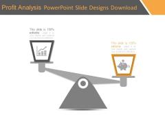 Profit Analysis Powerpoint Slide Designs Download