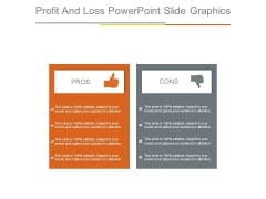 Profit And Loss Powerpoint Slide Graphics