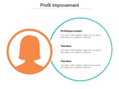 Profit Improvement Ppt PowerPoint Presentation Pictures Demonstration Cpb