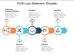 Profit Loss Statement Template Ppt PowerPoint Presentation Slides Styles Cpb