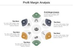 Profit Margin Analysis Ppt PowerPoint Presentation Ideas Show Cpb