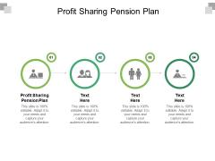 Profit Sharing Pension Plan Ppt PowerPoint Presentation Summary Deck Cpb Pdf
