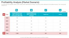 Profitability Analysis Market Scenario Information PDF
