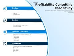 Profitability Consulting Case Study Ppt PowerPoint Presentation Slides Graphics Download