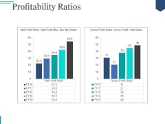 Profitability Ratios Ppt PowerPoint Presentation Infographic Template