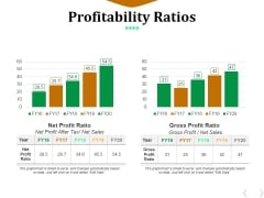Profitability Ratios Template 1 Ppt PowerPoint Presentation Outline Information
