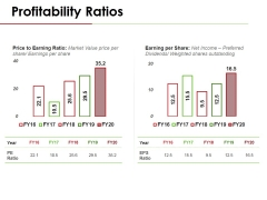Profitability Ratios Template 3 Ppt PowerPoint Presentation Gallery Icon