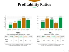 Profitability Ratios Template 5 Ppt PowerPoint Presentation Model Clipart Images