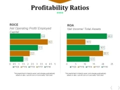 Profitability Ratios Template 6 Ppt PowerPoint Presentation File Infographic Template