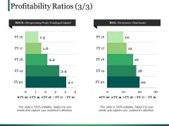 Profitability Ratios Template Ppt PowerPoint Presentation Templates