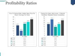 Profitability Ratios Template Ppt PowerPoint Presentation Topics