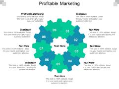 Profitable Marketing Ppt PowerPoint Presentation Inspiration File Formats Cpb