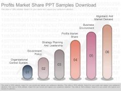 Profits Market Share Ppt Samples Download
