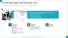 Program And PME Project Description And Overview Budget Ppt Layouts Graphics Example PDF