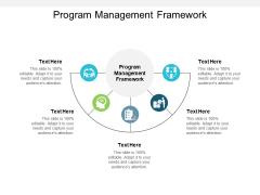 Program Management Framework Ppt PowerPoint Presentation Styles Layouts