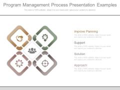 Program Management Process Presentation Examples