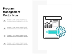 Program Management Vector Icon Ppt PowerPoint Presentation File Aids