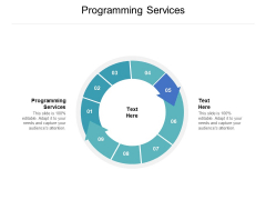 Programming Services Ppt PowerPoint Presentation Inspiration Ideas Cpb Pdf