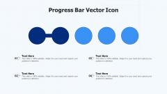 Progress Bar Vector Icon Ppt Slides Design Templates PDF