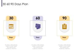 Progressive 30 60 90 Days Plan Ppt Inspiration Demonstration PDF