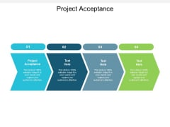 Project Acceptance Ppt PowerPoint Presentation Summary Format Cpb