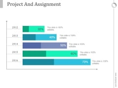Project And Assignment Ppt PowerPoint Presentation Slides