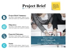 Project Brief Marketing Ppt PowerPoint Presentation Slides Outline