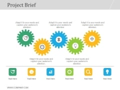 Project Brief Ppt PowerPoint Presentation Designs Download