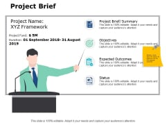 Project Brief Ppt PowerPoint Presentation File Skills