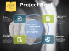 Project Brief Ppt PowerPoint Presentation Ideas Visuals