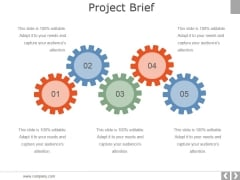 Project Brief Ppt PowerPoint Presentation Infographics Background Designs
