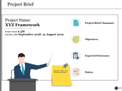 Project Brief Ppt PowerPoint Presentation Inspiration Format Ideas