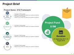 Project Brief Ppt PowerPoint Presentation Model Gallery
