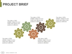 Project Brief Ppt PowerPoint Presentation Model Professional