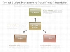 Project Budget Management Powerpoint Presentation