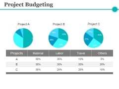 Project Budgeting Ppt PowerPoint Presentation Pictures Aids