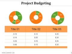 Project Budgeting Ppt PowerPoint Presentation Styles Designs Download